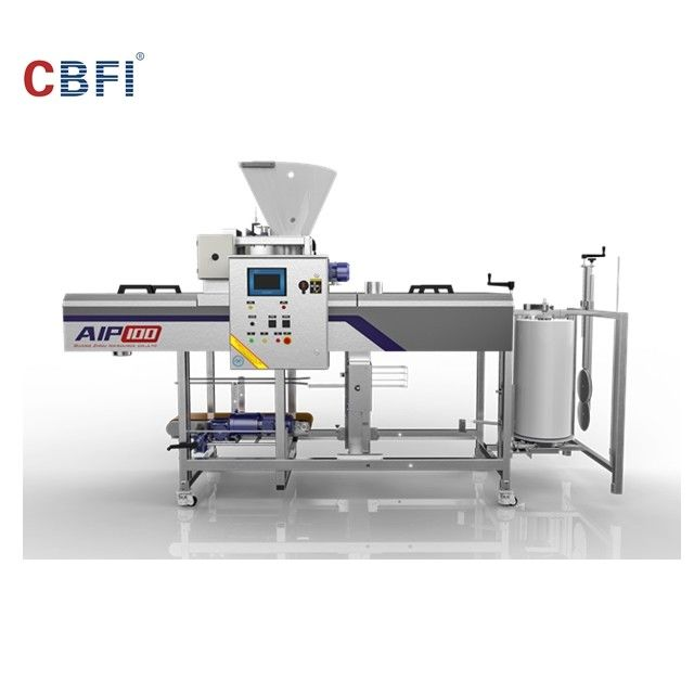 Automatic Ice Machine / Ice Cube Machine With Full Automatic Packing System