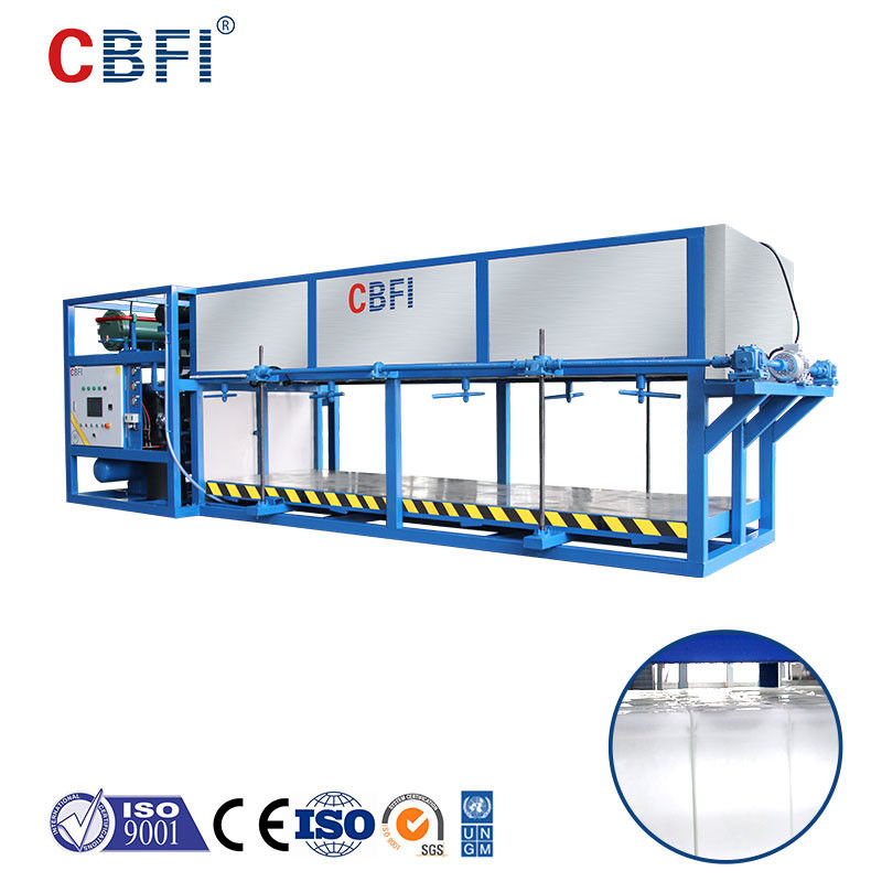 Commercial 5 Tons Direct Refrigeration Block Ice Machine